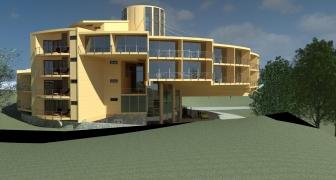 Projet ABLEWOOD® - Projet de construction disponible en 2 versions (Logement et Hôtel)