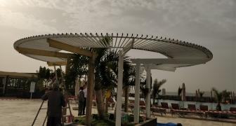 Pergolas de diamètre de 8 mètres