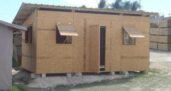 DEUX UNITES DE PRODUCTIONS ABRIS URGENCE LEOGANE 3500 U PORT AU PRINCE 3500 U pour ACTED