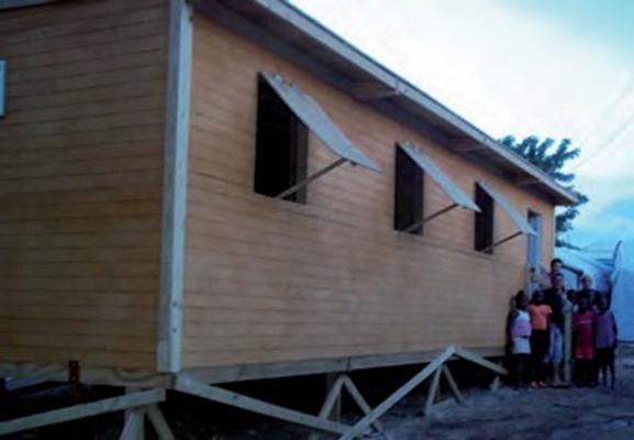 ECOLE URGENCE SALLE 45 E Haïti