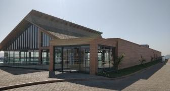 Salle de banquet d'un hôtel 5* à Dackar, Sénégal