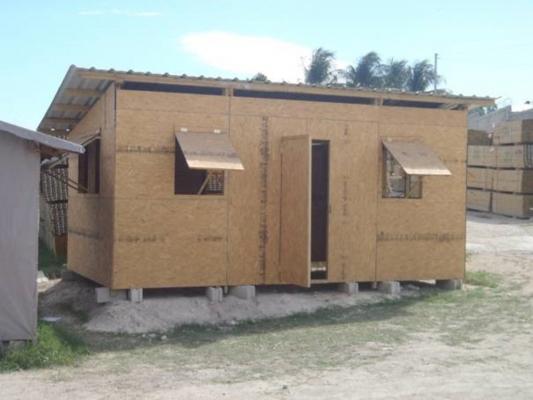 DEUX UNITES DE PRODUCTIONS ABRIS URGENCE HAITI
